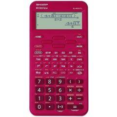 Calculator stiintific, 16 digits, 422 functiuni, 157x78x15 mm, SHARP EL-W531TLBRD - rosu