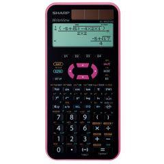 Calculator stiintific, 16 digits, 335 functiuni, 168x80x14 mm, dual power, SHARP EL-W531XGYR -