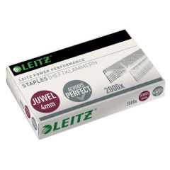 Capse LEITZ Juwel, 4 mm, 2000 buc/cutie