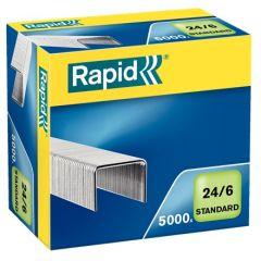 Capse Rapid Standard, 24/6, 2-20 coli, 5000 buc/cutie