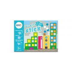 """Carte creativa Stick""""n Give it a Stick - patrate (+3 ani)"""