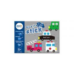 """Carte creativa Stick""""n Give it a Stick - patrate (+5 ani)"""