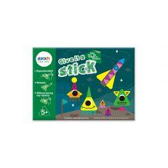 """Carte creativa Stick""""n Give it a Stick - triunghiuri (+5 ani)"""