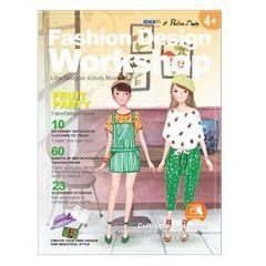 "Carte creativa Stick""n Little Designer Activity book - Fruit Party"