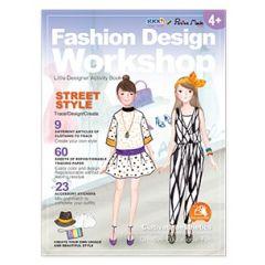 "Carte creativa Stick""n Little Designer Activity book - Street Style"