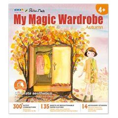 "Carte creativa Stick""n My Magic Wardrobe - toamna"