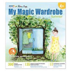 "Carte creativa Stick""n My Magic Wardrobe - vara"