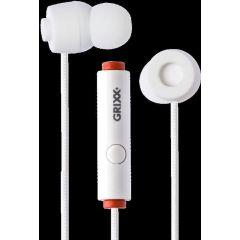 Casti GRIXX Optimum - cu microfon - albe