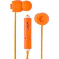 Casti GRIXX Optimum - cu microfon - portocalii