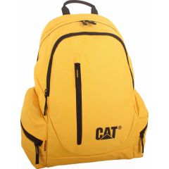 Rucsac CATERPILLAR The Project, material 600D polyester, compartiment laptop - galben