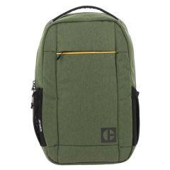 Rucsac CATERPILLAR Code - Quest Adventure, material 420D hexagonal - verde masliniu