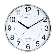 Ceas de perete UNILUX Aria - gri/alb