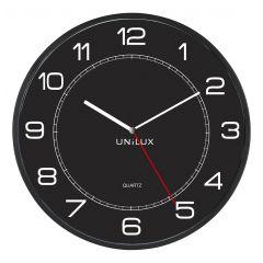 Ceas de perete UNILUX Mega - negru