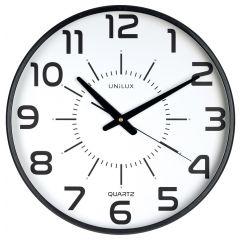 Ceas de perete UNILUX Pop Maxi - negru