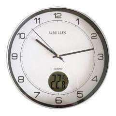 Ceas de perete UNILUX Tempus - gri/alb