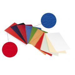 Coperta carton imitatie piele 250g/mp, A4,100/top OPUS - maron