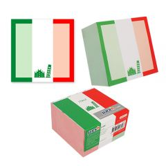 "Cub notes autoadeziv 70 x 70 mm, 400 file, Stick""n Italy - alb"