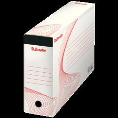 Cutie depozitare si arhivare ESSELTE Standard, pentru dosare suspendabile, carton, alb