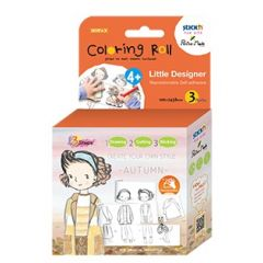 """Cutie creativa cu role pentru colorat, 3 buc/set, Stick""""n Little Designer - toamna"""