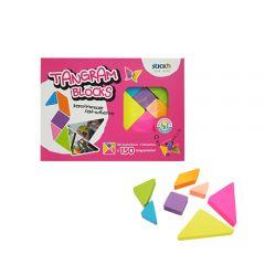 "Cutie creativa Stick""n Tangram Blocks - forme geometrice"