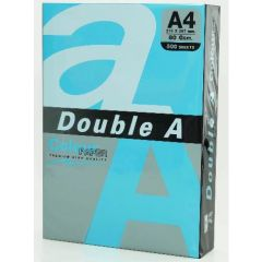 Hartie color pentru copiator  A4,  80g/mp,  25coli/top, Double A - pastel blue navy