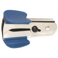 Decapsator metalic, cu mecanism de blocare, DONAU - accesorii albastre