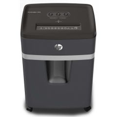 Distrugator de documente HP Pro Shredder 12MC - 12 coli, micro cut (2 x 15mm), nivel securitate 5