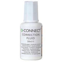 Fluid corector cu pensula, 20ml,  Q-Connect