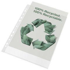 Folie de protectie Esselte Recycled, PP, A4, 70 mic, 100 buc/cutie, standard