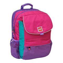 Ghiozdan scoala Hansen LEGO Core Line - design roz/violet
