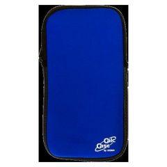Husa calculator stiintific, BESTLIFE CC23, 215 x 115 x 28mm, neopren albastru/textil negru, cu fermo