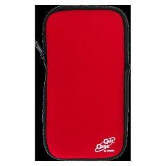 Husa calculator stiintific, BESTLIFE CC25, 215 x 115 x 28mm, neopren rosu/textil negru, cu fermoar