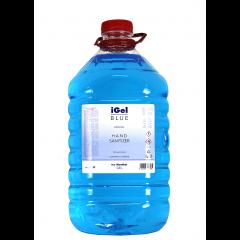 Gel alcoolic dezinfectant pentru maini pet 5 litri, Igel Blue