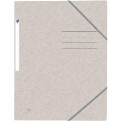 Mapa A4, carton MultiStrat 390g/mp, cu elastic, OXFORD Top File - bej