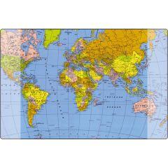 Mapa birou 38 x 58 cm, KANGARO - harta lumii