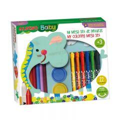 Mega set pentru pictura/colorat, pentru copii, ALPINO Baby