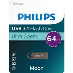 Memory stick USB 3.1 -  64GB  PHILIPS Moon edition
