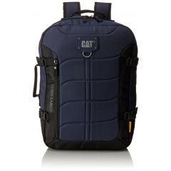 Rucsac CATERPILLAR Millennial Classic - Cabin Cargo, material 600D HD polyester - negru cu bleumarin