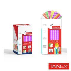 Pastile adezive nepermanente, 50gr, 85buc/set, TANEX Fix - violet fluorescent