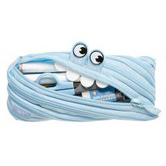 Penar cu fermoar, ZIPIT Gorge Monster - albastru