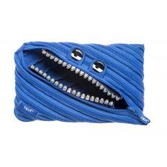 Penar cu fermoar, ZIPIT Grillz Monster Jumbo - albastru
