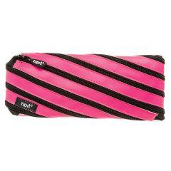 Penar cu fermoar, ZIPIT Neon - roz