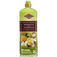 Balsam rufe, 2 litri, ORO Essence of Wellness - Orange & Sandal Wood