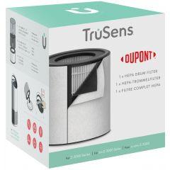 Rezerva filtru DuPont, True HEPA 3 in 1, pentru purificator LEITZ TruSens Z-3000, alb