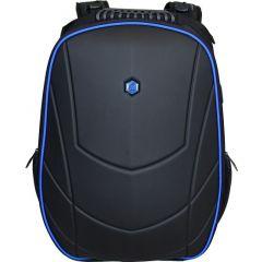 Rucsac BESTLIFE Gaming Assailant - negru/albastru - laptop 17 inch, compartiment anti-vibratie, char