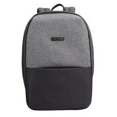 Rucsac BESTLIFE Travel Safe - gri/gri inchis - laptop 16 inch, charge pentru USB si TypeC conectori