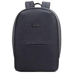 Rucsac BESTLIFE Travel Safe - gri inchis/gri - laptop 16 inch, charge pentru USB si TypeC conectori