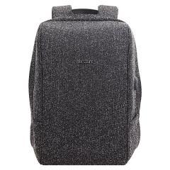 Rucsac BESTLIFE Travel Safe - negru/gri - laptop 16 inch, charge pentru USB si TypeC conectori