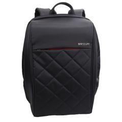 Rucsac BESTLIFE Travel Safe - negru - laptop 16 inch, charge pentru USB si TypeC conectori