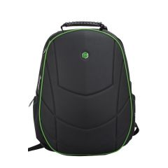 Rucsac BESTLIFE Gaming Assailant - negru/verde - laptop 17 inch, comp. anti-vibratie, charge USB